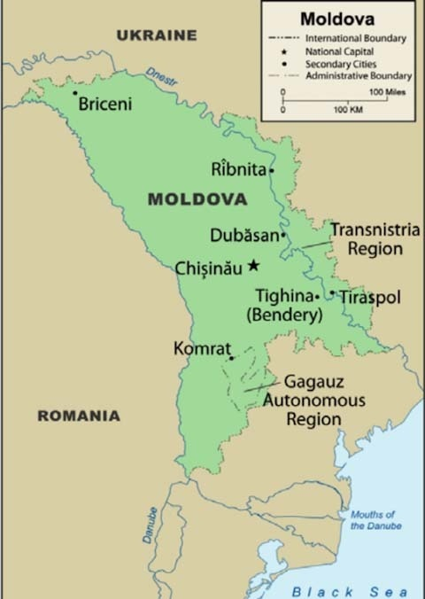Tensions Are High in the Tiny Repressed Region of Transnistria
