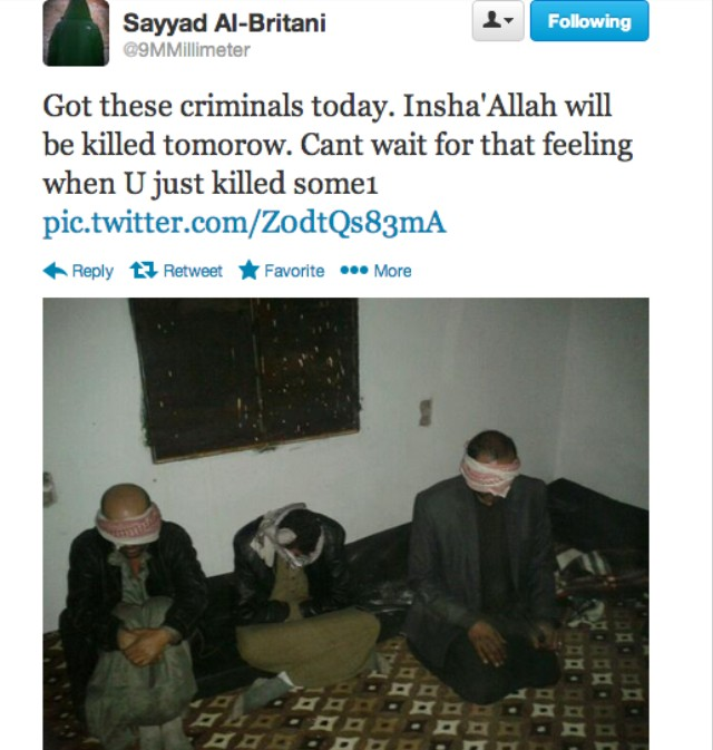 Behead First, Ask Questions Later: The Disturbing Social Media of
