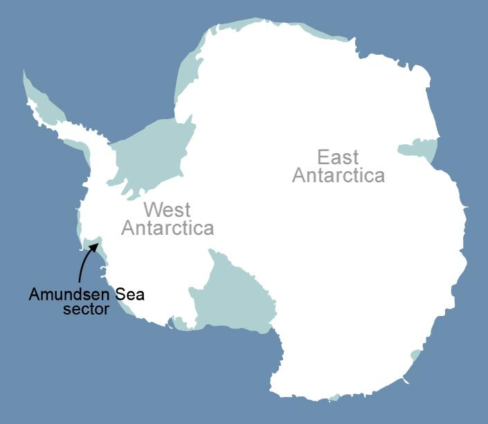 Antarcticas Melting Ice Sheets Might Bring More Sea Level Rise To - Map of us after ice caps melt