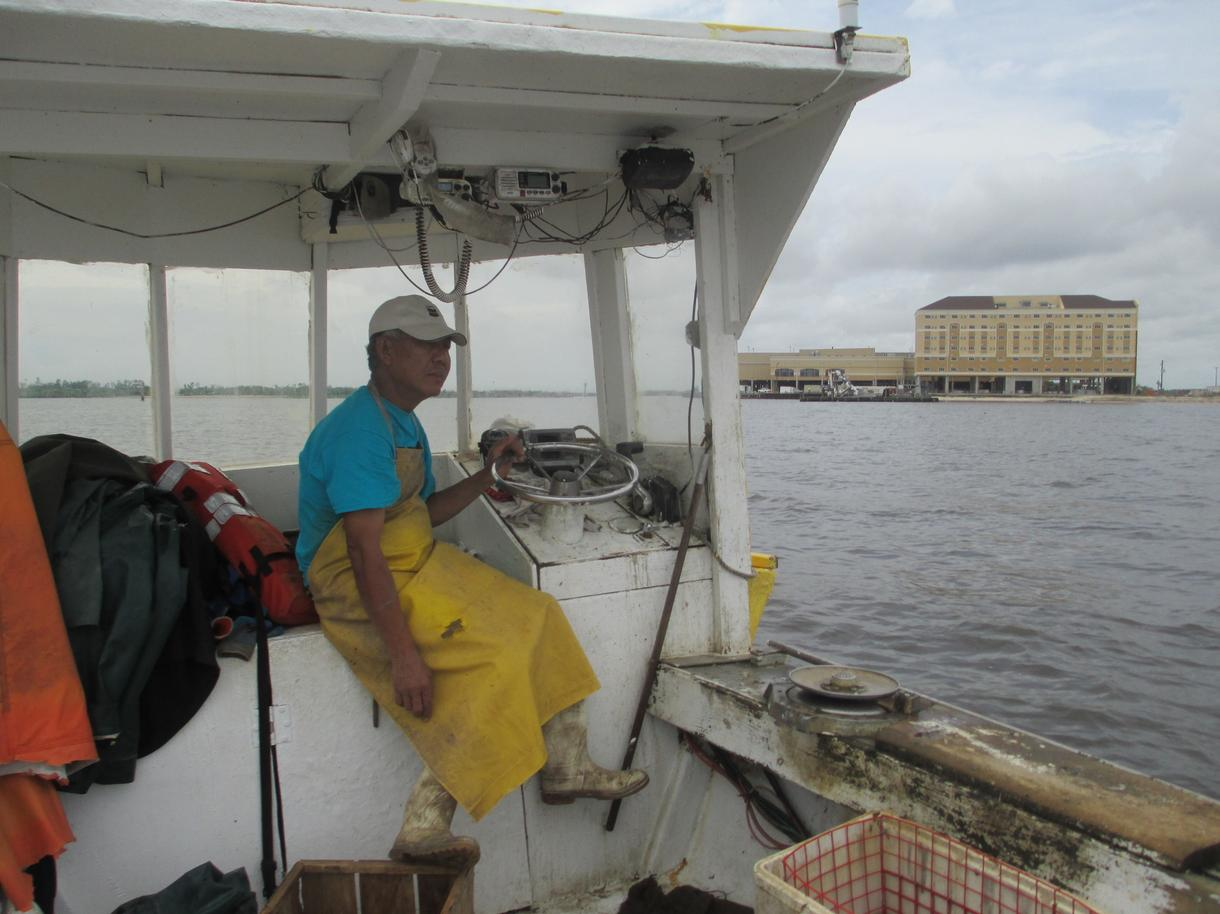 Five years after bp disaster gulf of mexico 39 s fishing for Deckhand fishing jobs