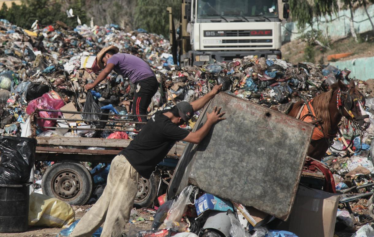in photos life in gaza a year after the ceasefire vice news shortage of fuel and spare parts have rendered the majority of gaza s garbage trucks unusable for rubbish collection and the trucks require almost daily