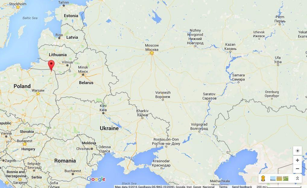 Cold War The US Military Is Beefing Up Its Presence In The - Us troops near russia map
