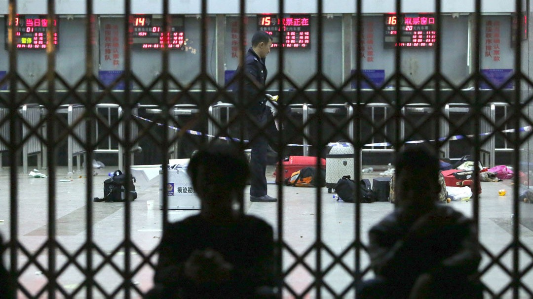 Massacre at Chinese Train Station Blamed on Ethnic Separatists