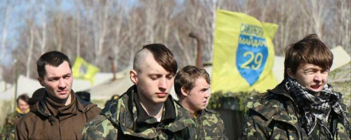 A Look Inside Ukraine's Volunteer National Guard