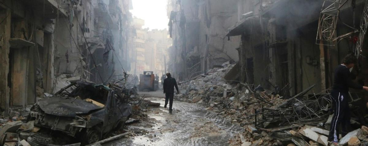 Syria Accused of Swapping Chemical Weapons For 'Barrel Bombs'