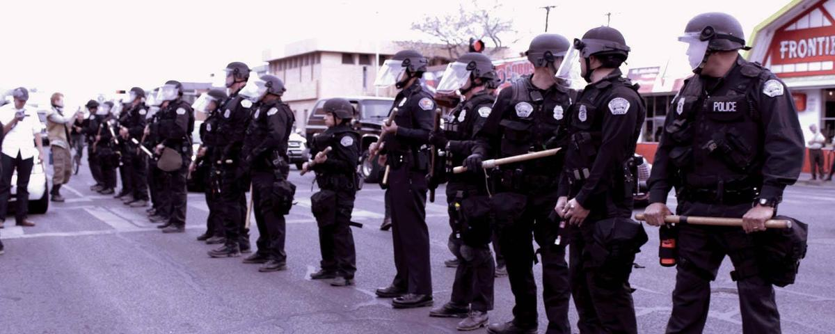Protests Against Police Brutality Plunge Into Chaos in New Mexico