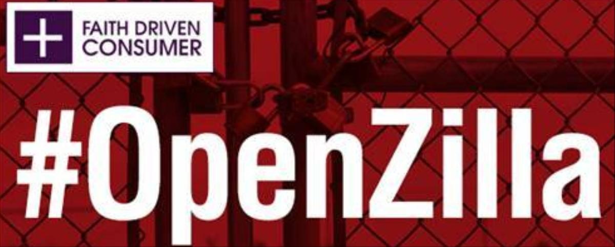 Group Launches #Openzilla Campaign to Combat Intolerance of 'Faith Driven Views'