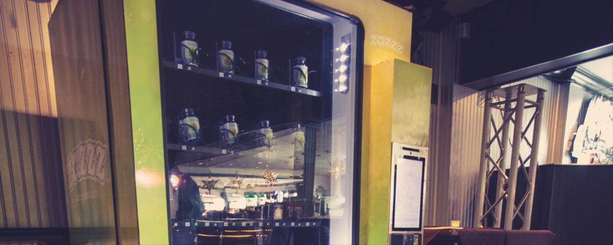 You Can Now Get Your Weed from a Vending Machine