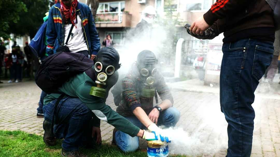 Clashes Erupt at May Day Protests in Istanbul