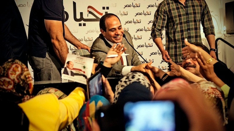 Egypt's President-In-Waiting Kicks Off Campaign with Hardline Vows