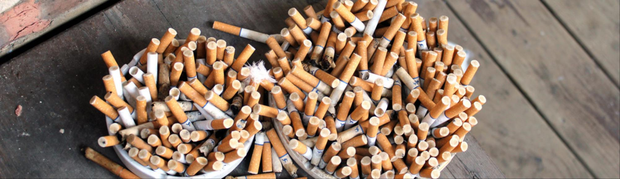 Millions of Discarded Cigarette Butts Are Poisoning the Planet