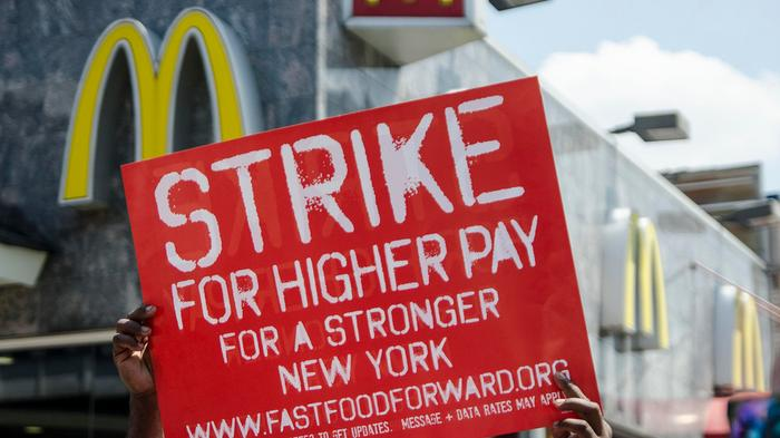 It's On: The Biggest Fast Food Strike in World History Has Started