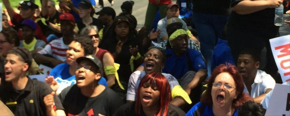 Police Arrest 101 McDonald's Workers Ahead of Shareholders Meeting