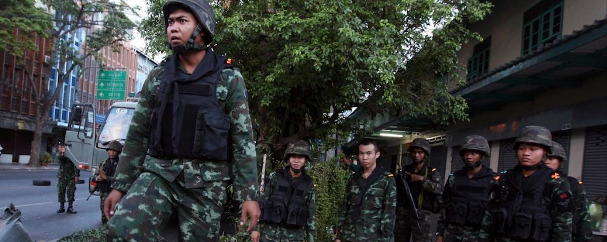 Thailand's Army Seizes Power, Suspends Constitution, and Imposes Curfew