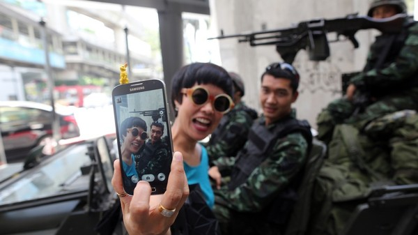 The Complex Consequences of Thai Coup Selfies