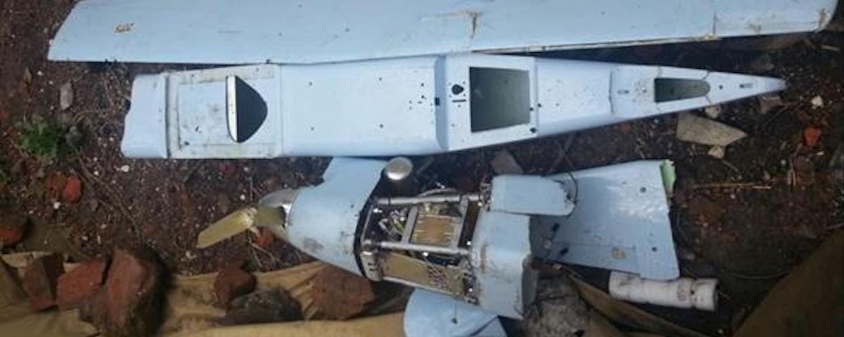 Ukraine Says it Shot Down a Russian Spy Drone