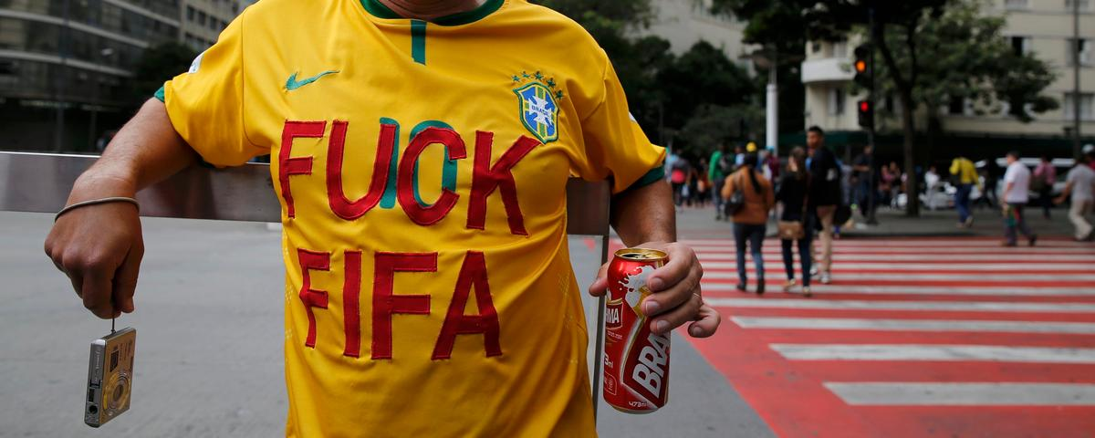 How So Many Football-Loving Brazilians Ended Up Hating the World Cup