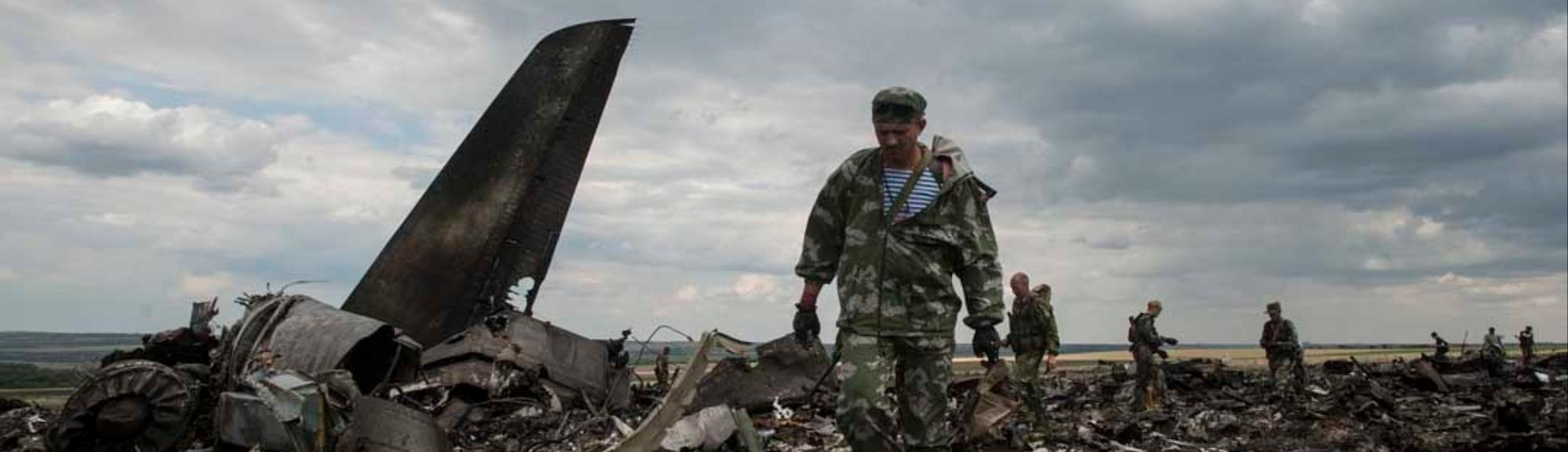 Ukraine President Promises an 'Adequate Response' After Rebels Shoot Down Military Plane