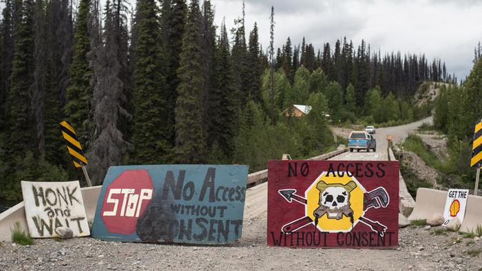 The Camp That Stands Firmly in the Path of Canada's Northern Gateway Pipeline