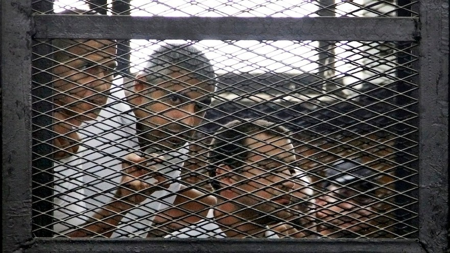 Al Jazeera Journalists Jailed for Seven Years After Bizarre Egyptian Trial