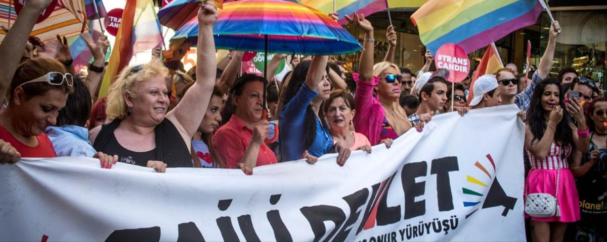 Protesters Demand End to Violence Against Turkey's Transgender Community