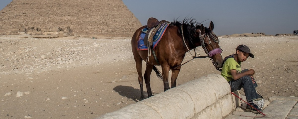In Photos: Visiting Egypt's Deserted Tourist Traps