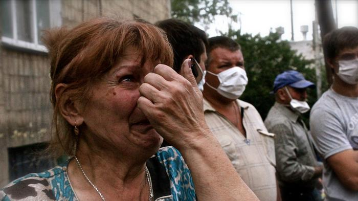 A Bomb Seemingly Misses Its Mark in Ukraine, and 11 More Civilians Die