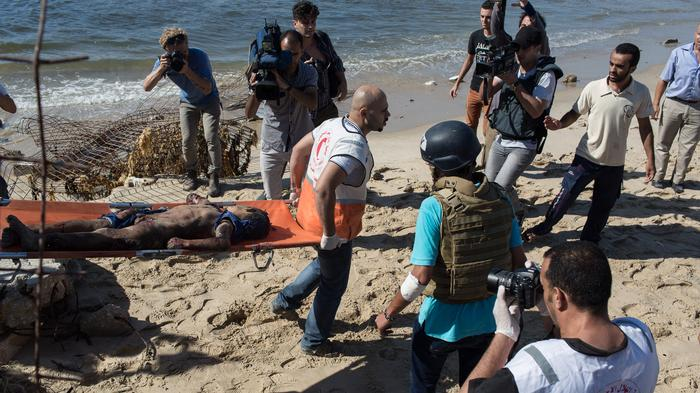 Israeli Shelling Kills 4 Children on Gaza Beach