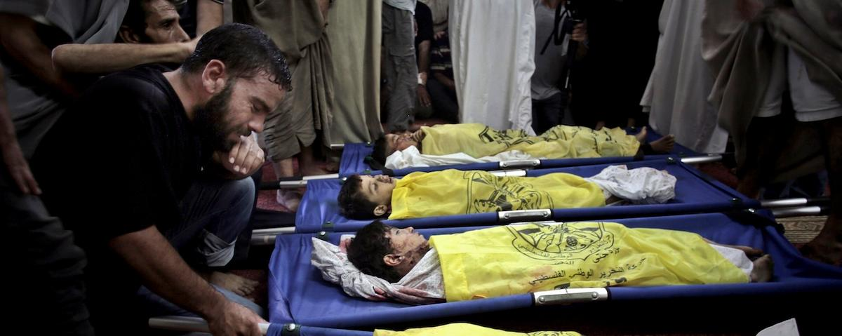 History Must Not Excuse Israel for Gaza's 'Telegenic' Dead