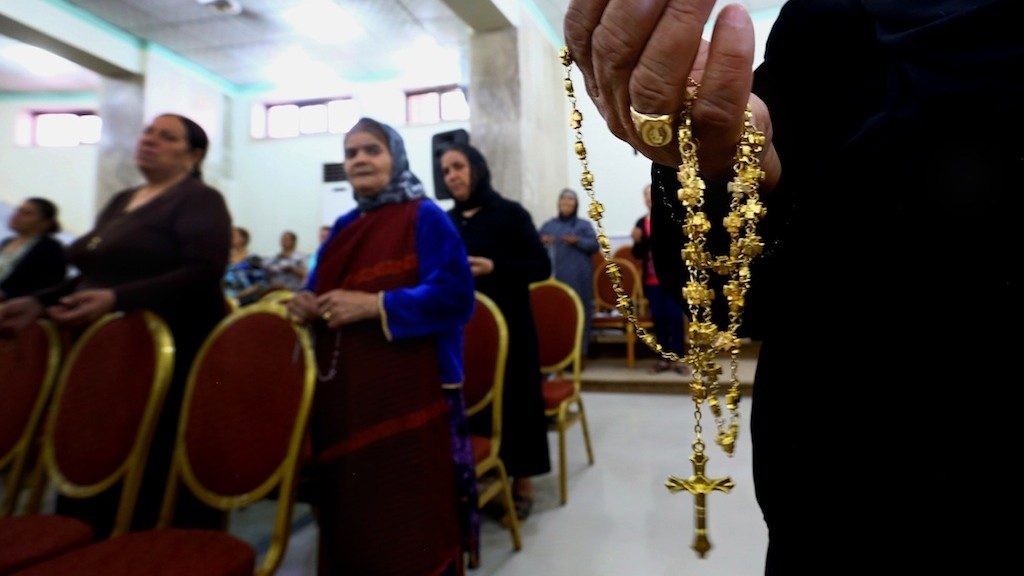 Iraq's Christians Flee Mosul and Fear for Their Safety in Baghdad