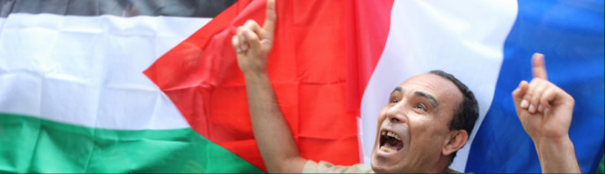 In Photos: A Pro-Palestine Protest Descended Into Anti-Semitism in Paris This Weekend