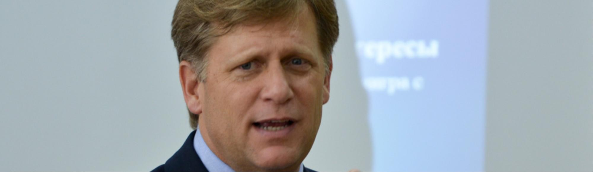 'There Has to Be More Pressure': Michael McFaul, America's Last Ambassador to Russia, Discusses Putin and Ukraine