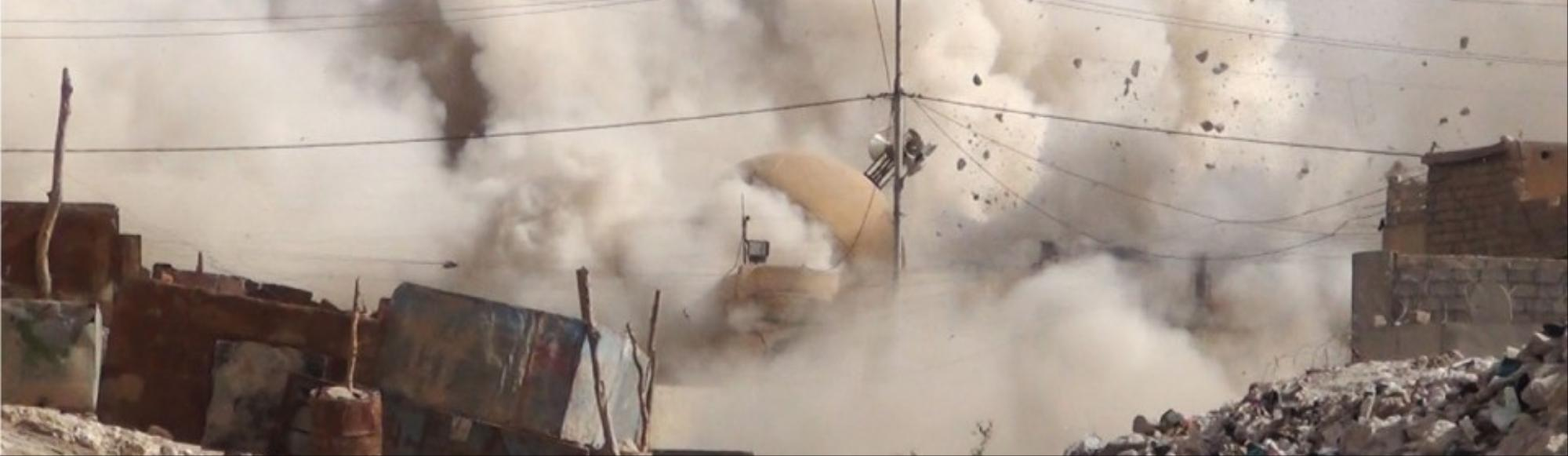 Video of the Islamic State Obliterating the Tomb of Jonah Emerges