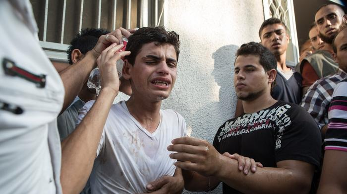 In Photos: Gaza Morgue Inundated With Bodies