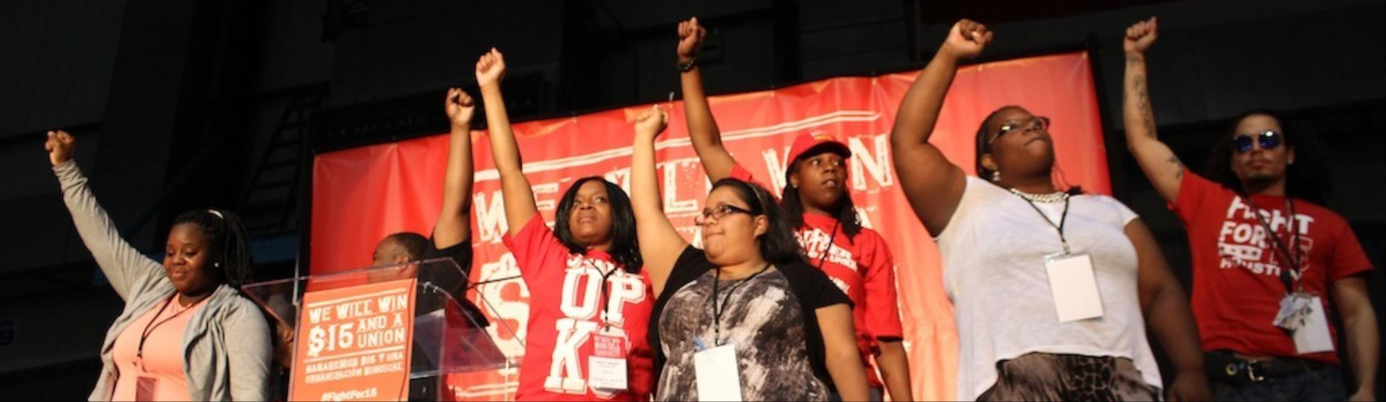 Fast Food Workers Fight for a Raise, a Union, and Dignity at First National Convention