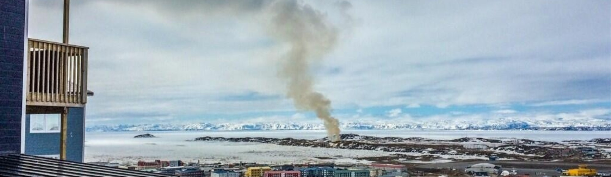 A Volcano of Garbage in the Arctic Has Been Burning For Eight Weeks