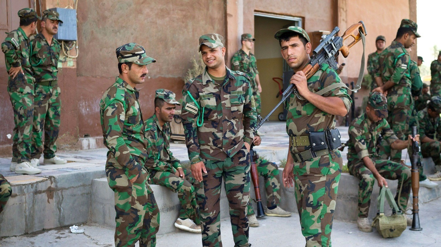 Kurdish Forces Prepare to Counterattack the Islamic State