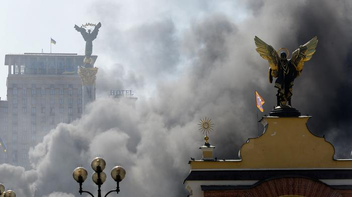 Russia Moves to Ban Parmesan Cheese as Black Smoke Billows Over Kiev Again