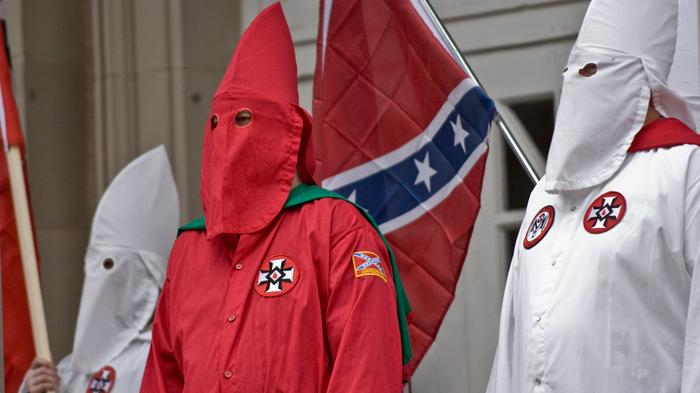 A Ku Klux Klan Group Claims It Is Around Ferguson and Fundraising for Darren Wilson