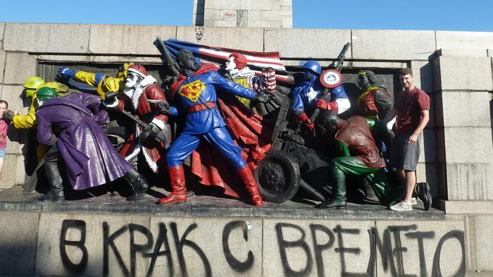 Russia Is Pissed Off About the Defacing of Bulgaria's Soviet-era Monuments