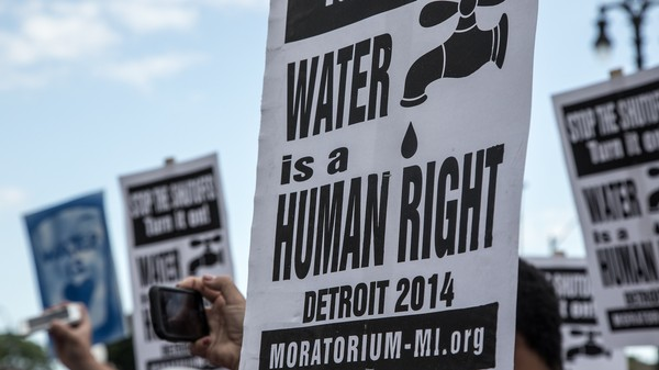 People in Detroit Started Having Their Water Shut Off Again Today
