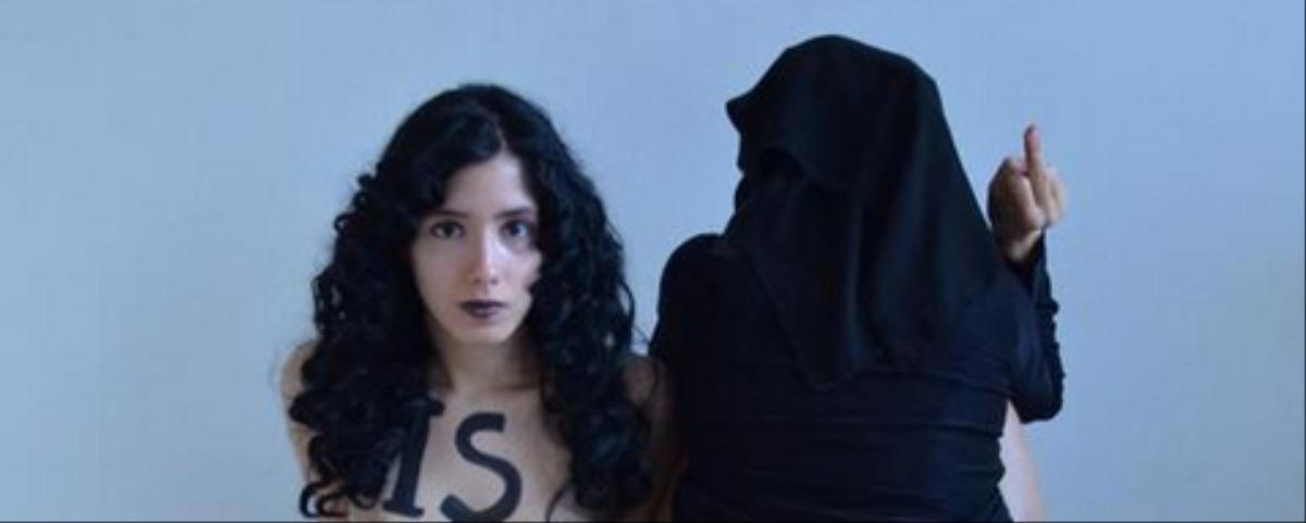 Why Feminist Activists Defecated and Menstruated on the Islamic State Flag