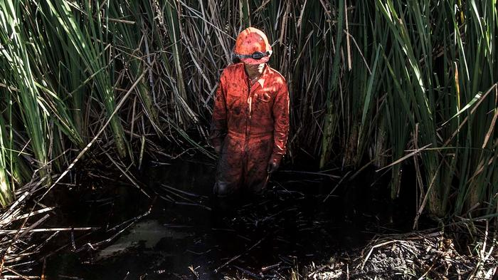 In Photos: A Massive Oil Spill Is Threatening Mexico's Third Largest City's Water Supply