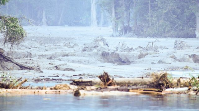 The Mount Polley Mine Disaster Has Produced a Mysterious, Waxy Blue Substance