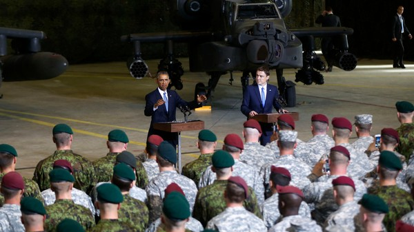 Obama's Estonia Visit En Route to NATO Summit Is All About Keeping Putin at Bay