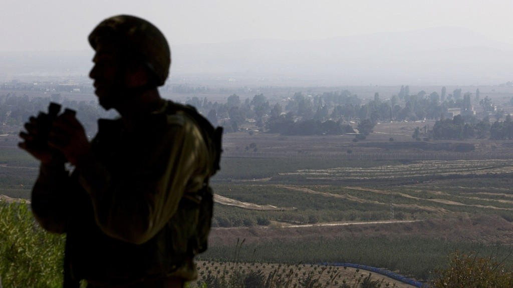 Israel Strikes Syrian Positions After Projectile Hits Golan Heights