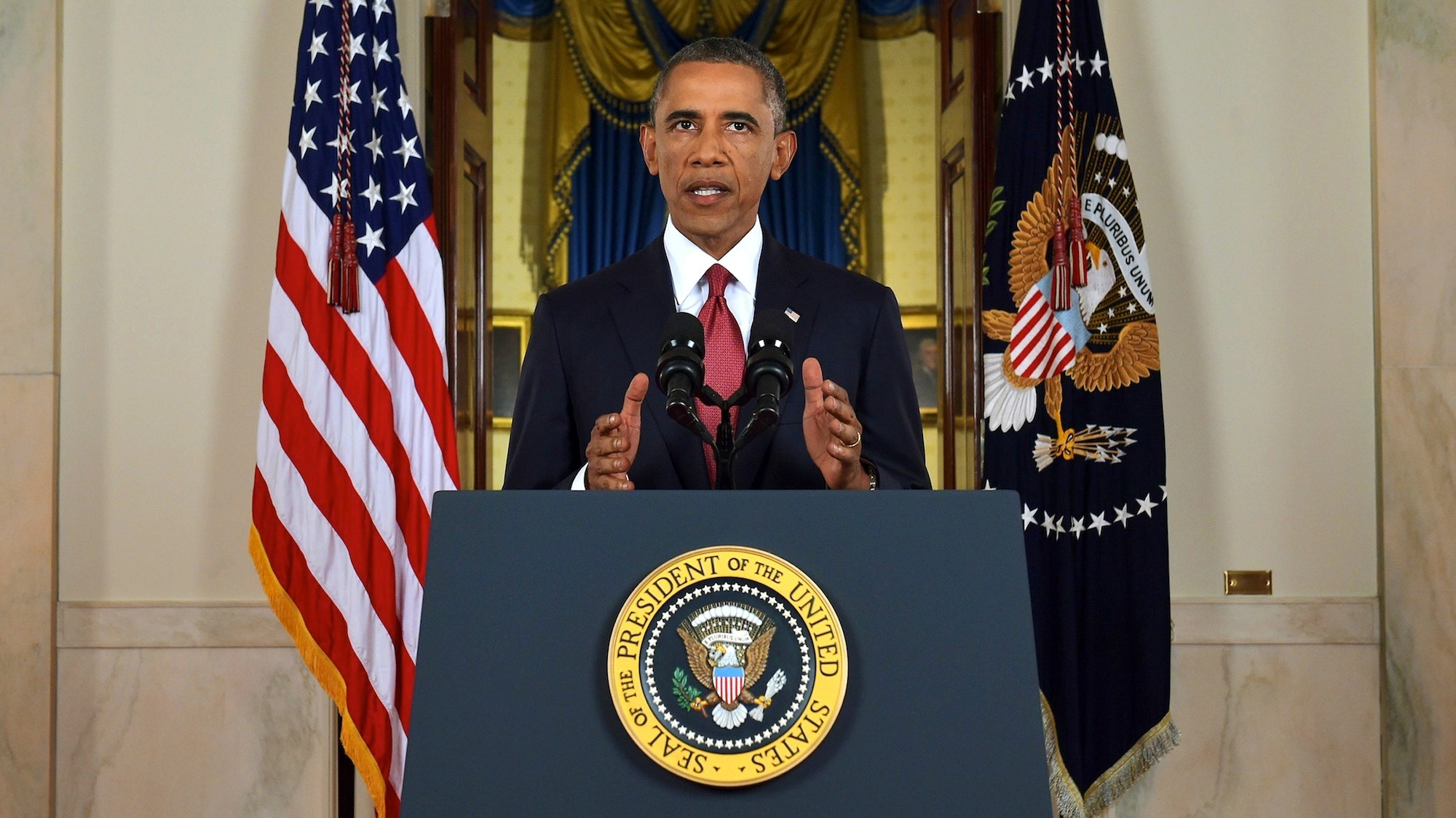 Obama Tells the Nation That America Is Going Back to War in Iraq