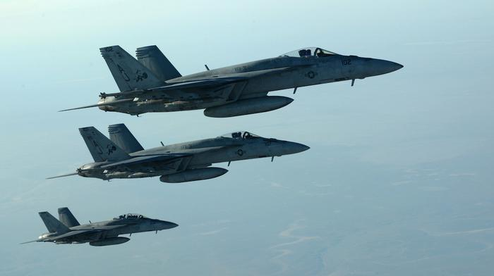 US-led Coalition Launches Second Day of Airstrikes on Islamic State's Syrian Oilfields