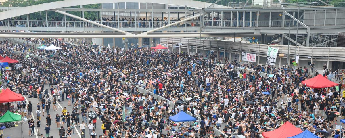 Hong Kong's Massive Pro-Democracy Demonstrations Are Only Expected to Grow