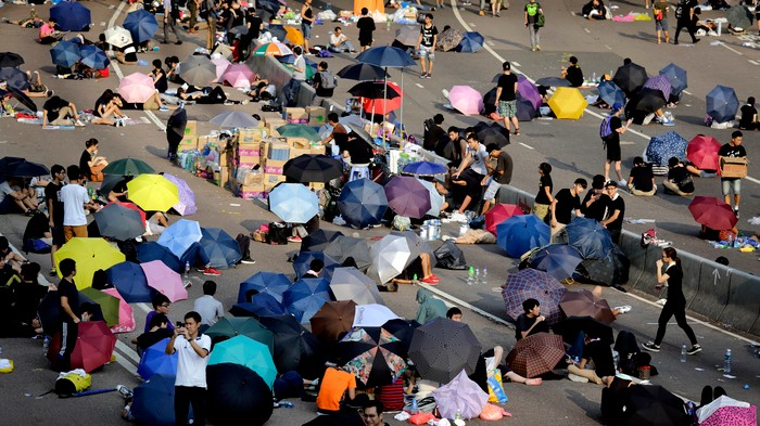 Occupy Central Is Not Like Previous Protest Movements